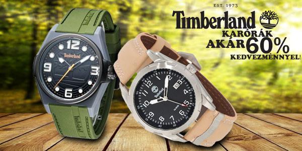 Timberland férfi karórák akár 60% kedvezménnyel!