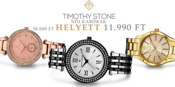 Timothy Stone női karórák 11 990 Ft-ért!