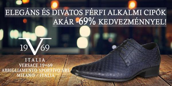 v 1969 by Versace cipők akár -69% kedvezménnyel!