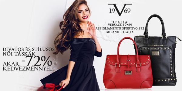 v 1969 by Versace táskák akár -72% kedvezménnyel!