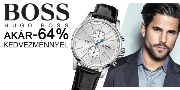 Hugo Boss karórák akár -64% kedvezménnyel! 8535244f2e