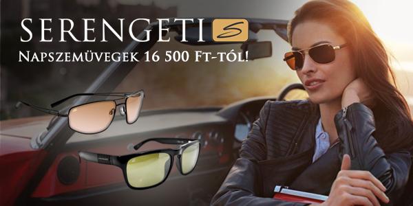 Serengeti napszemüvegek 16 500 Ft-tól