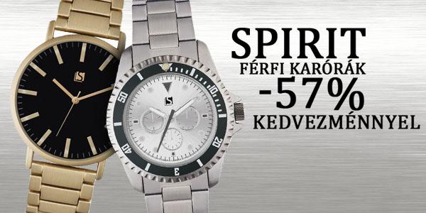 Spirit karórák -57% kedvezménnyel!