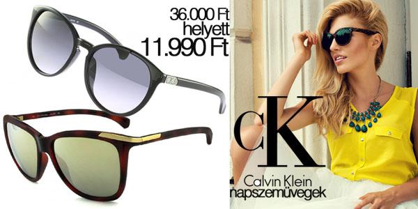 Calvin Klein napszemüvegek 11 990 Ft-ért!