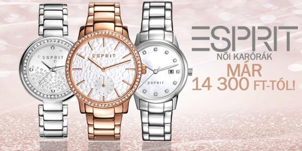Esprit karórák 14 300 Ft-tól!
