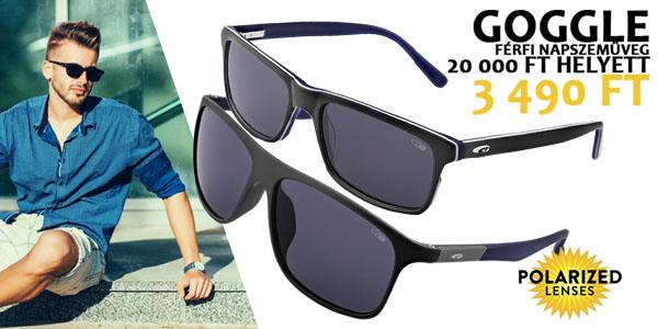 Goggle férfi napszemüvegek