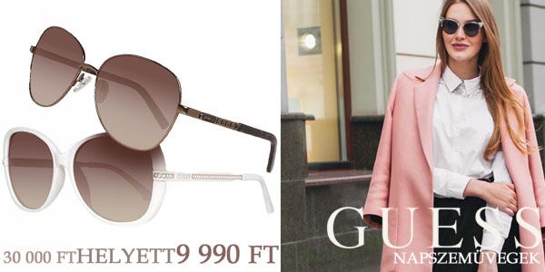 Guess női napszemüvegek -67% kedvezménnyel!