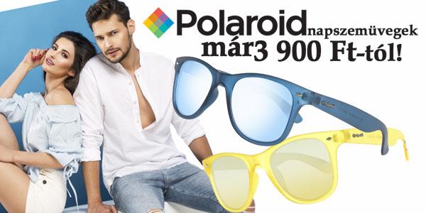 Polaroid napszemüvegek 3 900 Ft-ért!
