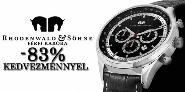 Rhodenwald&Söhne karórák -83% kedvezénnyel
