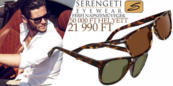Serengeti napszemüvegek 21 990 Ft-ért!