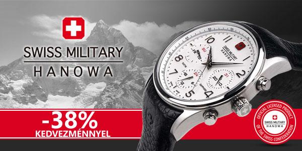Swiss Military Hanowa karórák -38% kedvezménnyel!