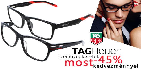 Tag Heuer szemüvegkeretek -45% kedvezménnyel!
