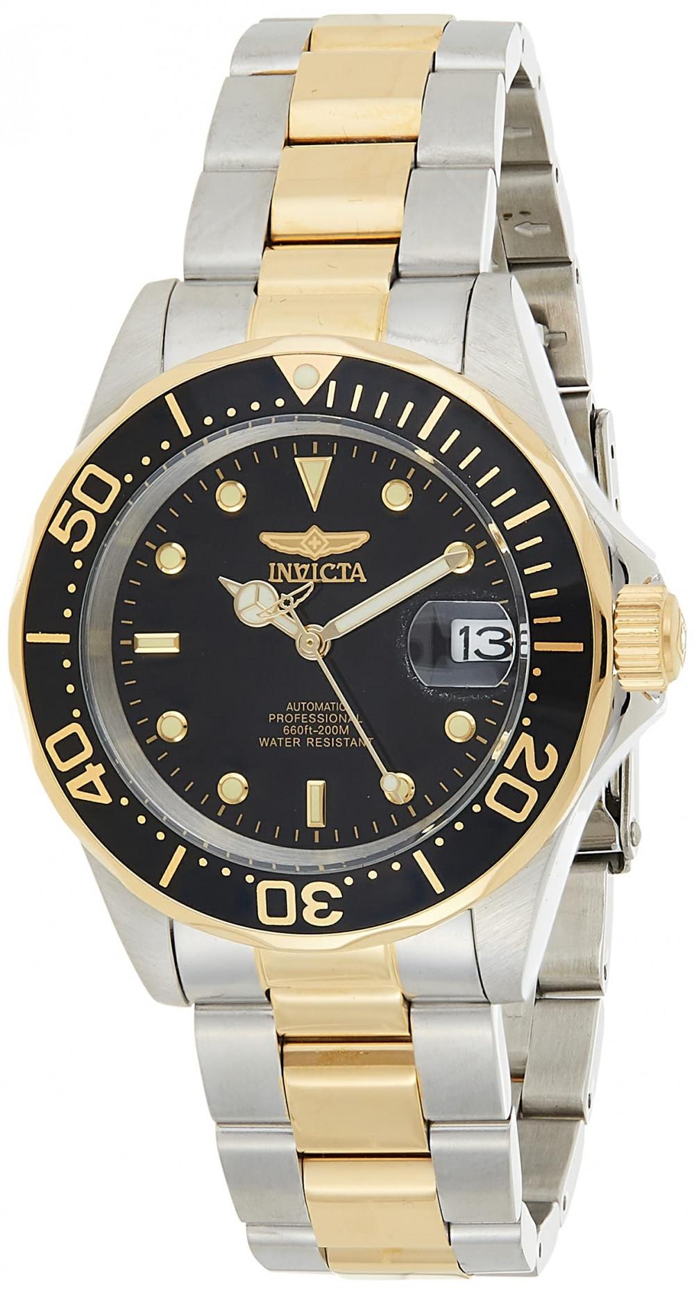 Invicta férfi 19837SYB Pro Diver 18k arany színű nemesacél bevonatú ... e5d2d531ec